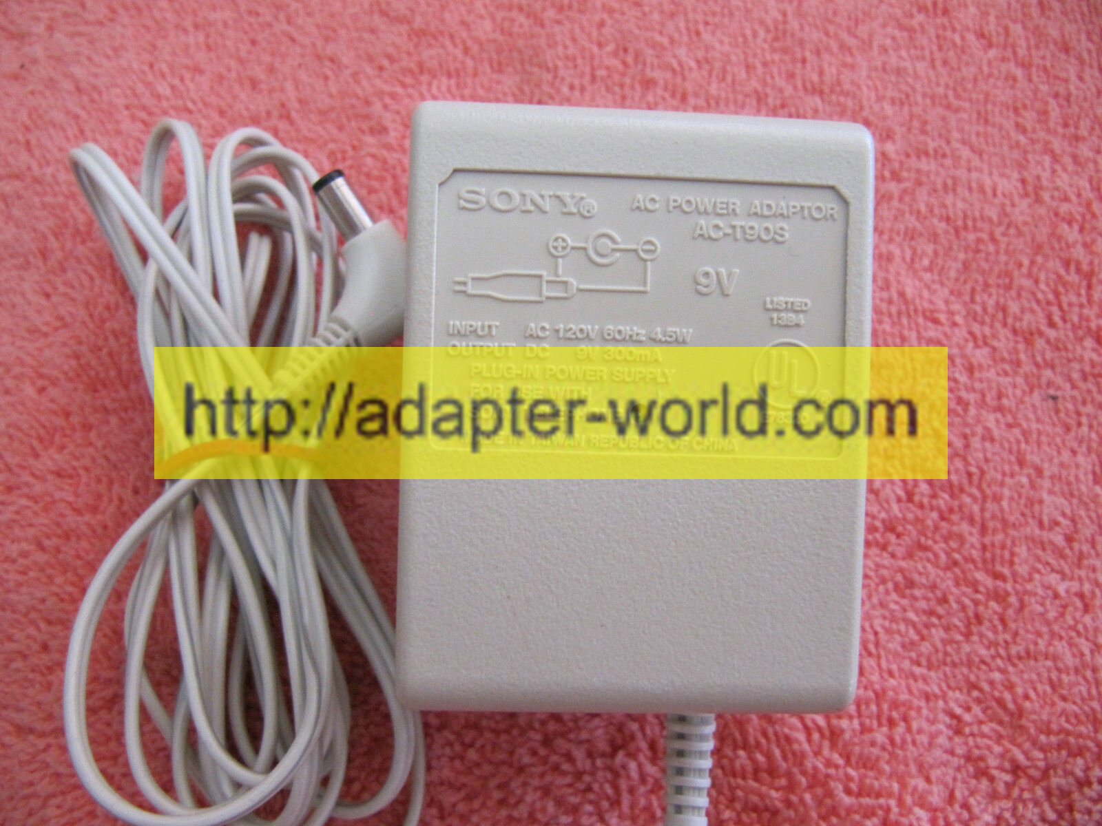 100% Brand NEW* SONY AC-T90S 9V AC Power Supply Adapter [*100% Brand